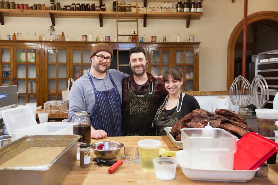 Larder Delicatessen and Bakery founders